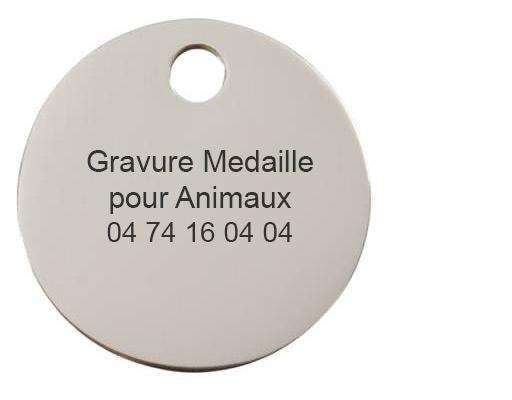 Gravure Médaille pour Animaux